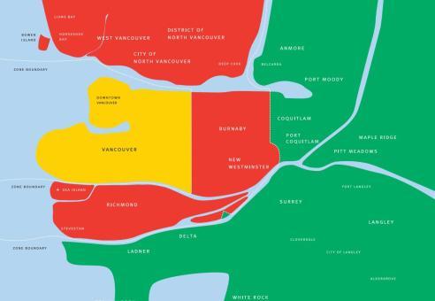 fare zone map