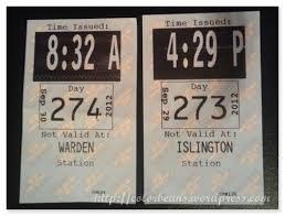 TRANSFER ticket